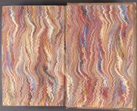 Nonpareil trough-marbled paper, front endleaf (B.9.4)