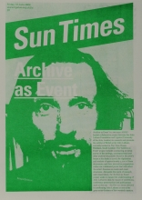 Cover of the Sun Times