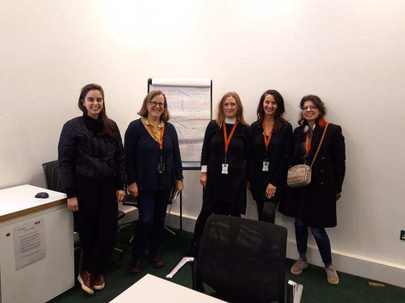 Tate modelling workshop participants