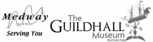 Guildhall museum and Medway council logo