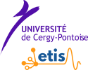 Logo of  Université de Cergy Pontoise - ETIS