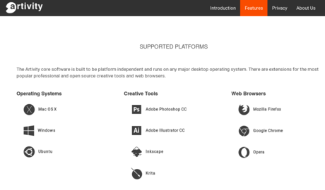 Supported platforms and software