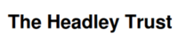 Headley Trust logo