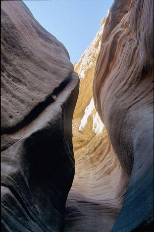Curved rocks