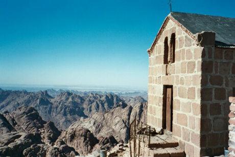 The church on mount Sinai