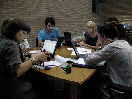 Group working on schema development