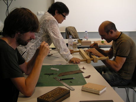 In the workshop with Georgios Boudalis