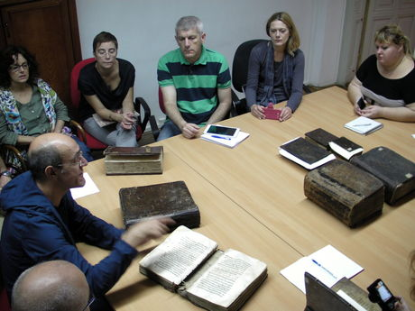 Examining Byzantine and Islamic bindings from the Archive of the Academy of Arts and Sciences