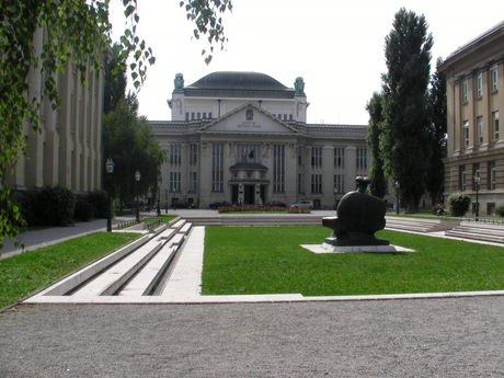 The building of the Croatian National Archives