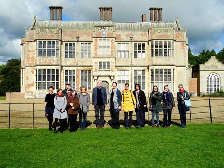 Group photo of the participants from week 2 outside Felbrigg Hall