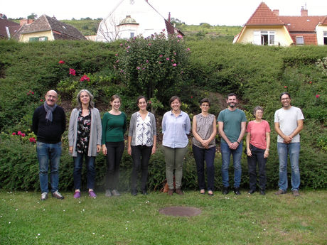 Group photo of participants from week two