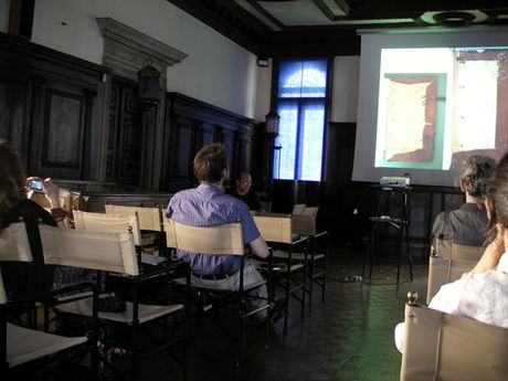 George Boudalis lecturing